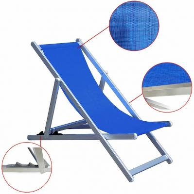 Giordano Deckchair Hardware, blue - Photo: eBay