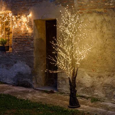 Albero marroni, albero a luci led