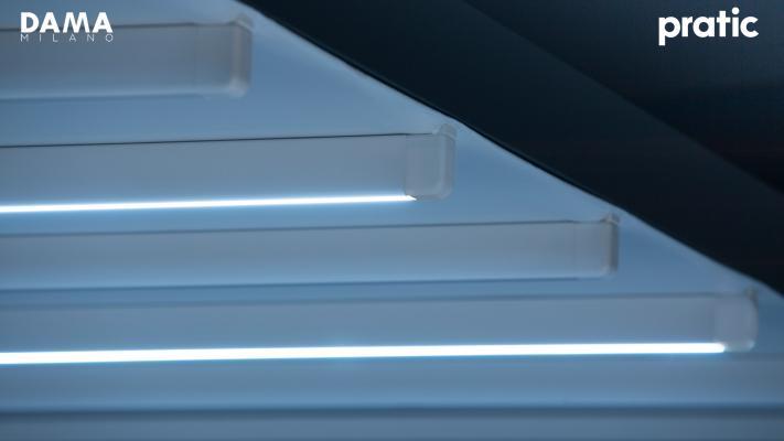 Illuminazione Led pergola - Dama Milano