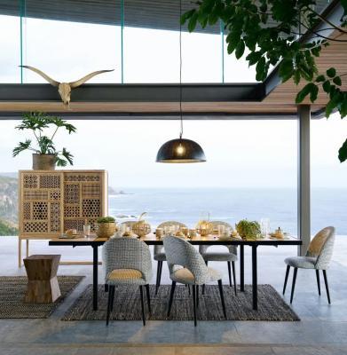 Tavolo da pranzo allungabile in legno massello di Maisons du monde