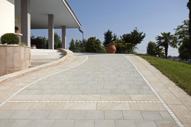 Pavimentazione in Pietra Serena - Fratus