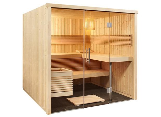 Mini spa en casa, Sentiotec, gran línea panorámica