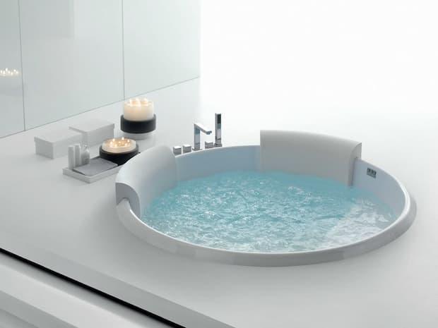 Spa en la casa, jacuzzi incorporado, Geromin, Bolla 160