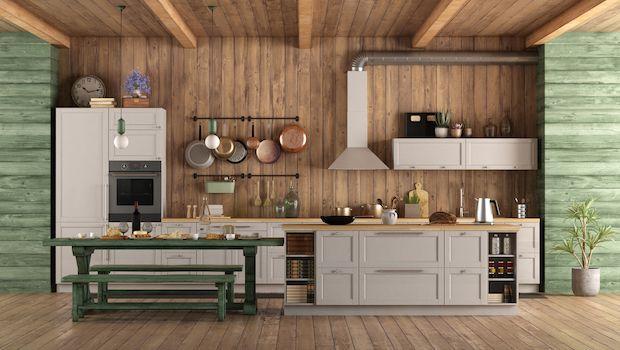 Arredare una cucina di campagna con mobili dallo stile senza tempo