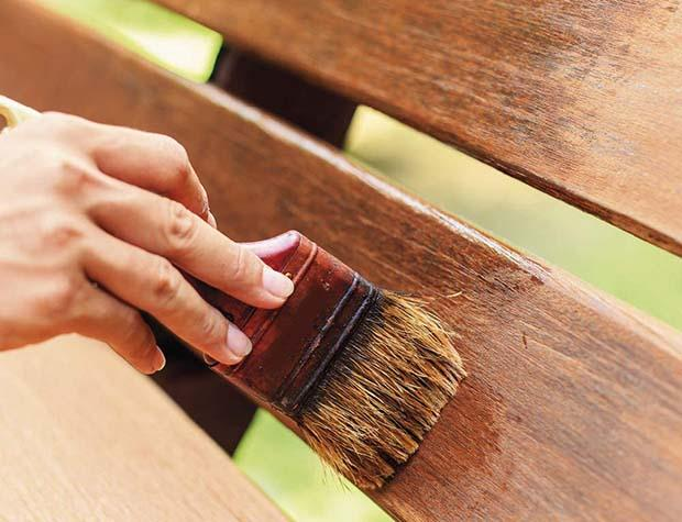 Painting a table is the best way to prevent new stains