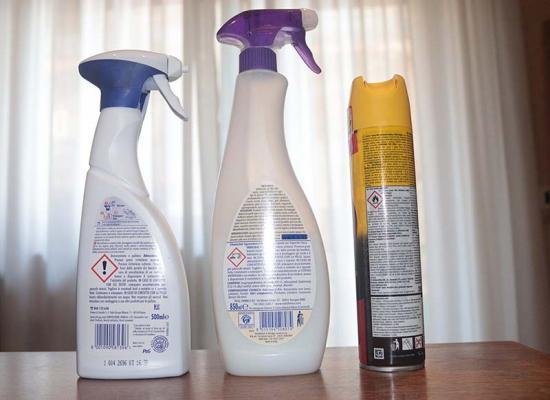 Alcuni prodotti di uso comune potenzialmente dannosi
