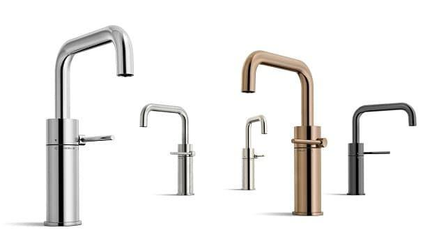 Finitura antigraffio: trattamento in PVD per rubinetti bagno e cucina