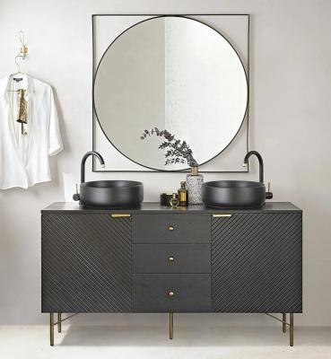 Mobile da bagno nero modello Jagger di Maison du Monde