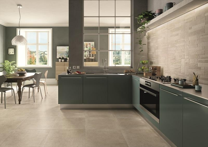 Traditional Ever stone effect wall tiles by Iperceramica