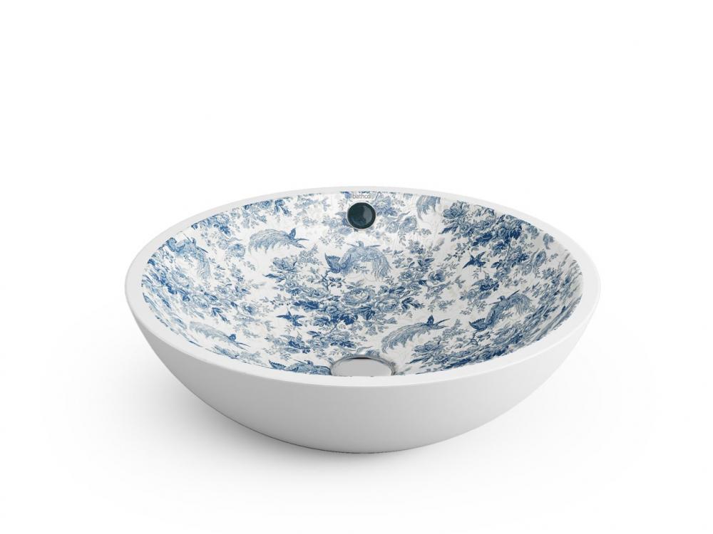 Lavabo in ceramica decorata - Iperceramica