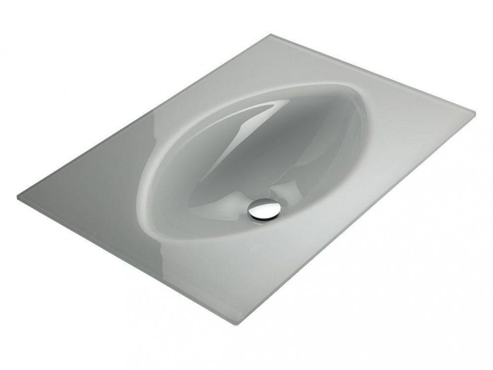Lavabo in vetro - occhio - Infabbrica