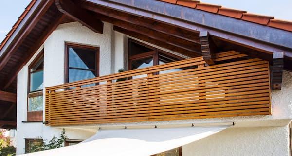Parapeto Sevilla de Leeb en madera