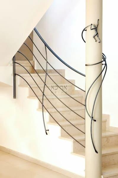 Barandilla de hierro para un ambiente moderno - Pinterest