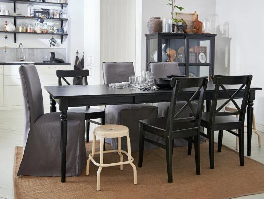 Tavoli da cucina in legno classico, IKEA, linea Ingatorp