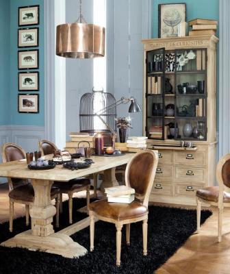 Tavoli classici, Maisons Du Monde, linea Lourmarin