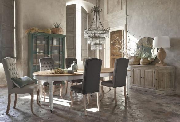 Tavoli per soggiorno allungabili, Maisons Du Monde, linea Provence