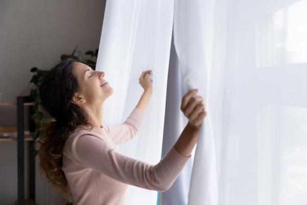 Come lavare le tende in lavatrice