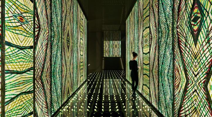 Sicis, mosaico retroilluminato