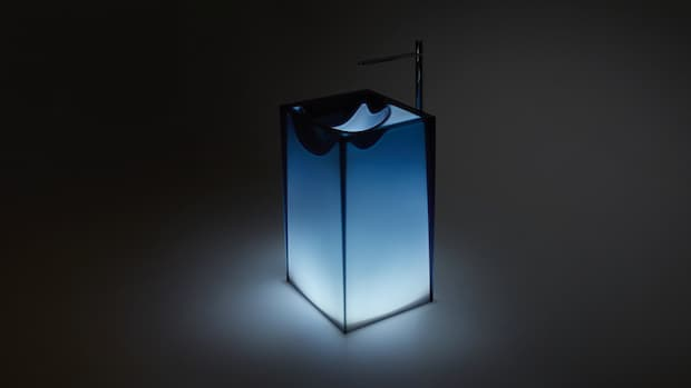 Astro freestanding washbasin Antonio Lupi design