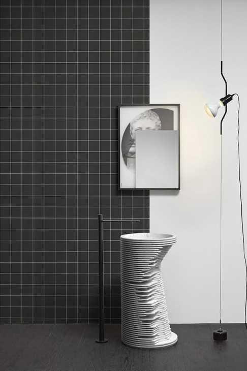 Freestanding washbasin Antonio Lupi design