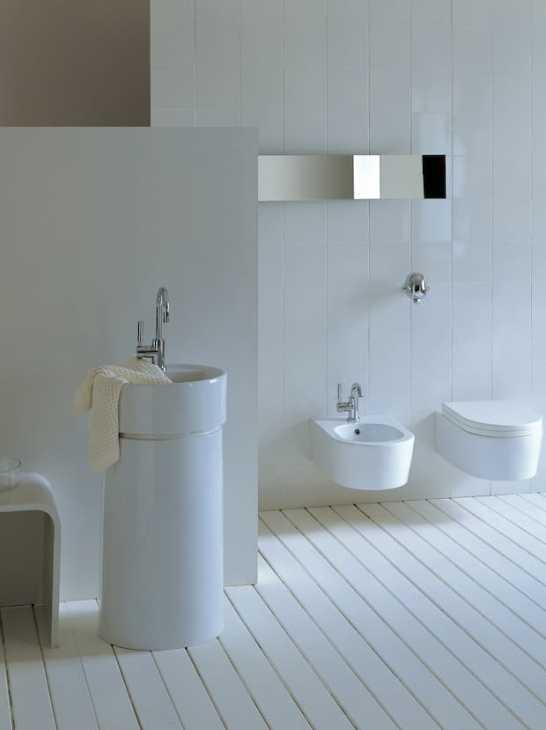 Twin freestanding washbasin in ceramica flaminia