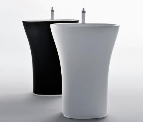 Lavabo freestanding scoop Flaminia design