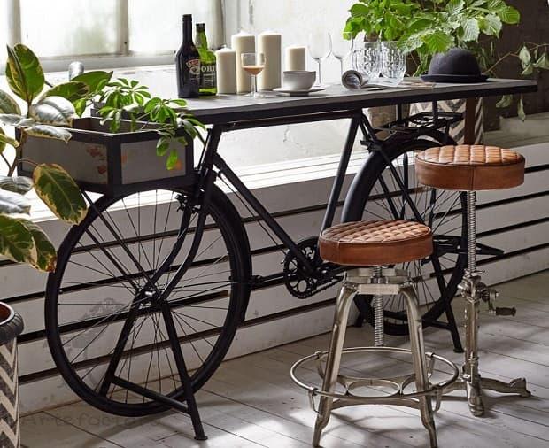 Ideas de bricolaje con la bicicleta, de recyclemag.ru