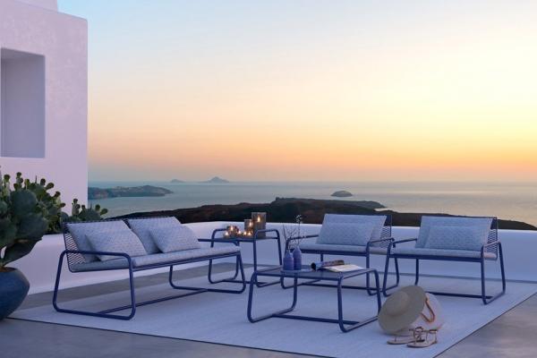 Casa al mare - arredare il terrazzo - Memedesign - collezione Lolita