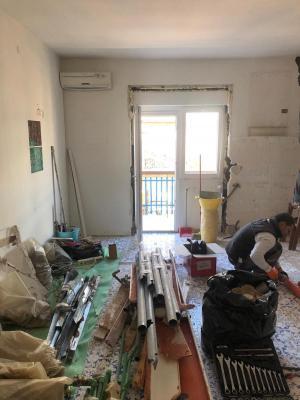Prima della ristrutturazione - Foto: Francesca Macellari