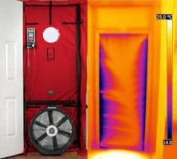 Verifica tenuta infissi con l'impiego del Blower Door