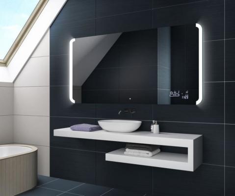Specchio smart a fasce laterali di Artforma