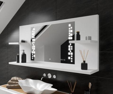 Mensola da bagno con specchio intelligente di Artforma