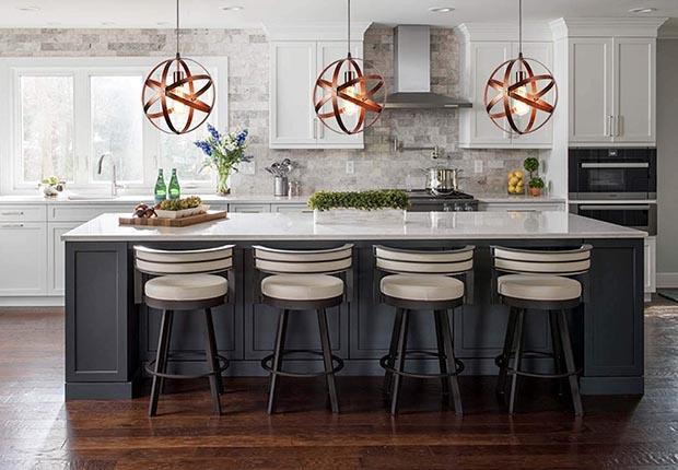 Comely vintage pendant lamp