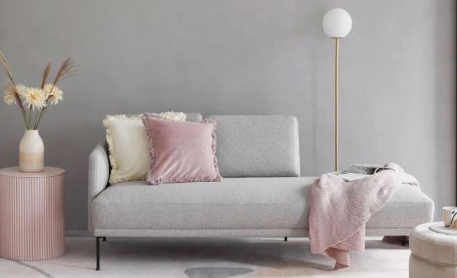 Salottino grigio e rosa by Westwing