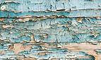 Scuro con fenditure per il distacco delle tavole di legno