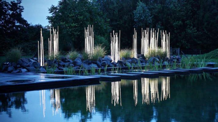 Luci a stelo Reeds LED Outdoor Artemide