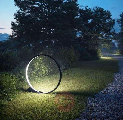 Illuminazione da giardino lampada circolare O di Artemide