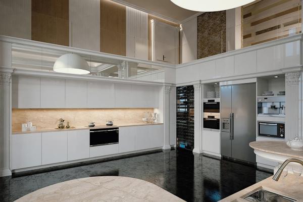 Il lusso di una cucina sta nei materiali ricercati - Cucina Tessarolo Prestige