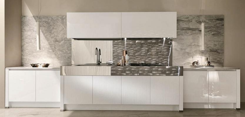 Cucine di lusso hanno linee minimaliste o classiche - Aster Luxury Glam