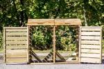 Copribdone in legno Foresta per case