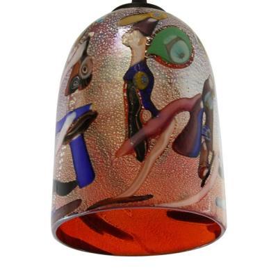 Lampadario veneziano Mirò dettaglio Original Murano Glasses