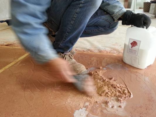 Realizzazione di pavimenti in calce, Pancotti Superfici