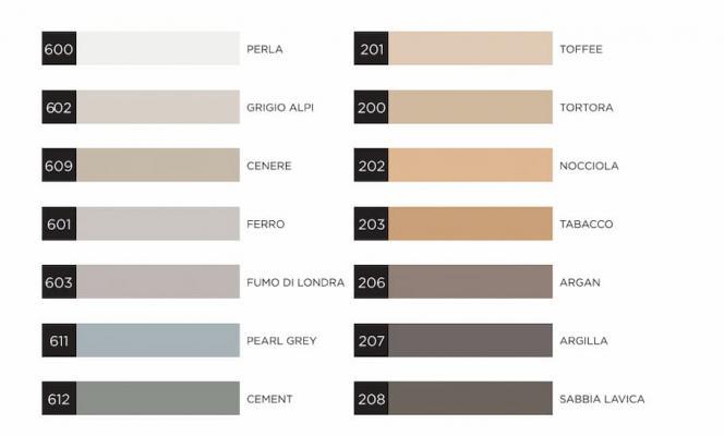 Cartella colori webercolor premium