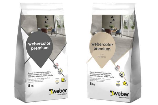 Webercolor premium sigillante per le fughe dei pavimenti