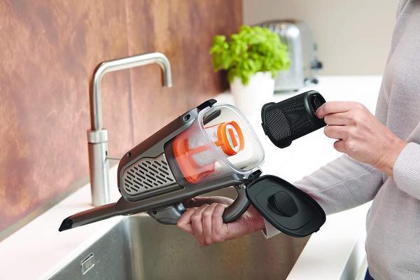 Gli aspirapolvere da mano sono facilissimi da pulire