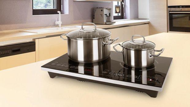 Cucinare ovunque con il piano cottura a induzione portatile