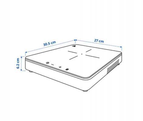 Misure piano cottura portatile IKEA