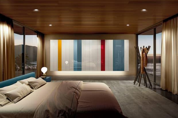 Arredi per stanze da letto moderne, soluzioni d'arredo Lago design