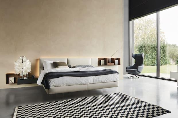 Camera da letto completa, soluzioni d'arredo Mobili Sparaco