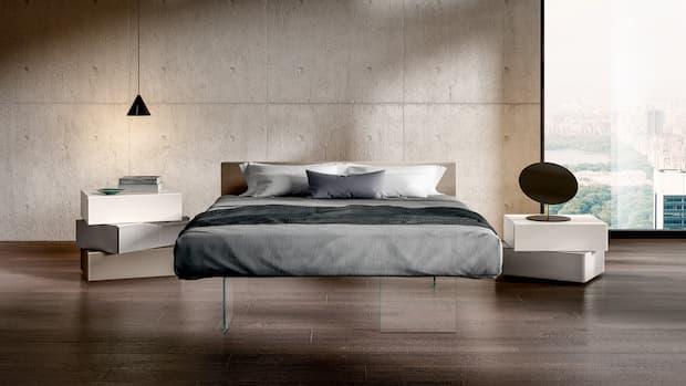 Comò e comodini per camere da letto moderne, Lago design
